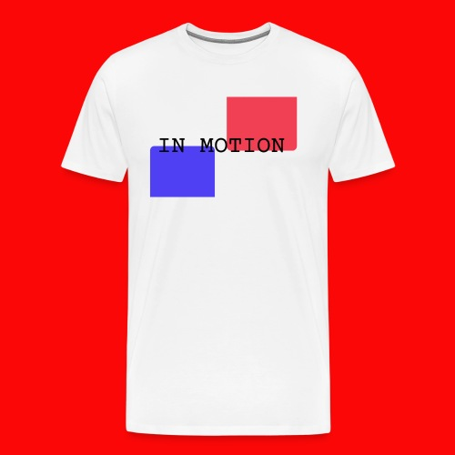 In Motion - Herre premium T-shirt