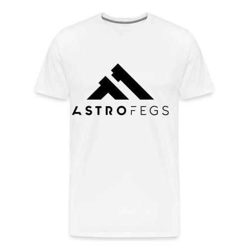 ASTROFEGS LOGO 01 - Premium T-skjorte for menn