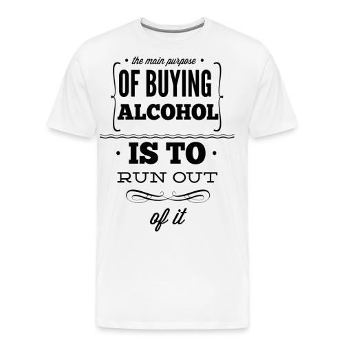 Out of Alcohol - Männer Premium T-Shirt