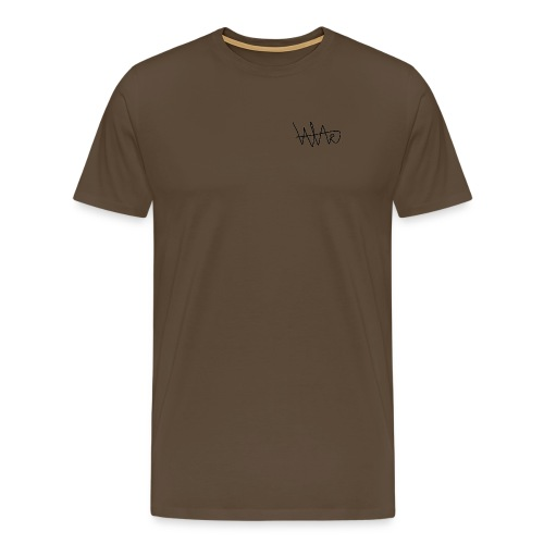 ValorousArcanine Signature White - T-shirt Premium Homme