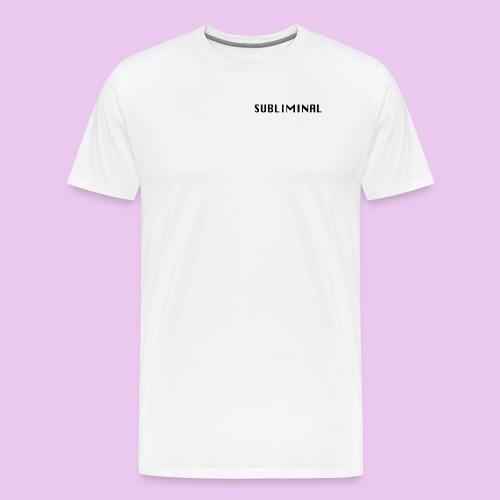 SUBLIMINAL LOGO - T-shirt Premium Homme