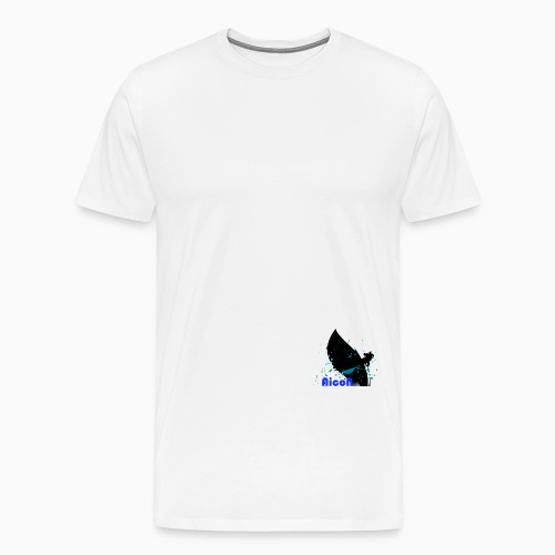 AicoN logo - Premium T-skjorte for menn