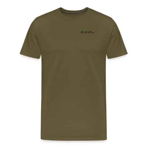 WM - Miesten premium t-paita