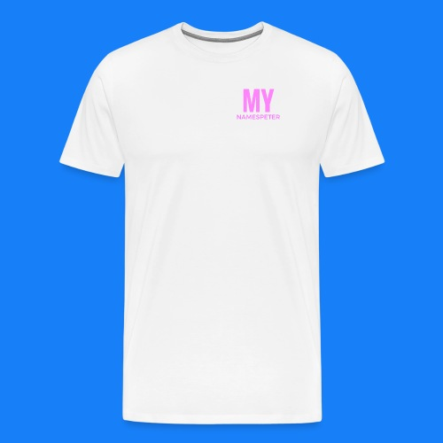 MYNAMESPEter - Men's Premium T-Shirt