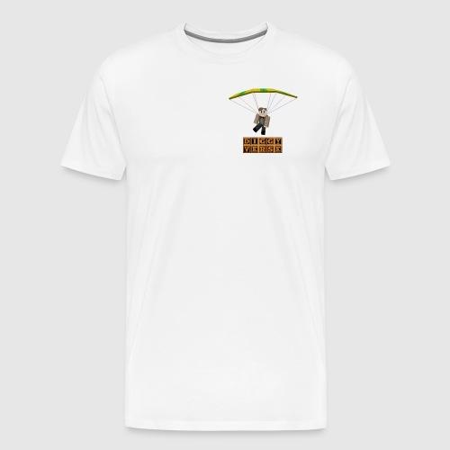 DiggyWig Parachute - Men's Premium T-Shirt