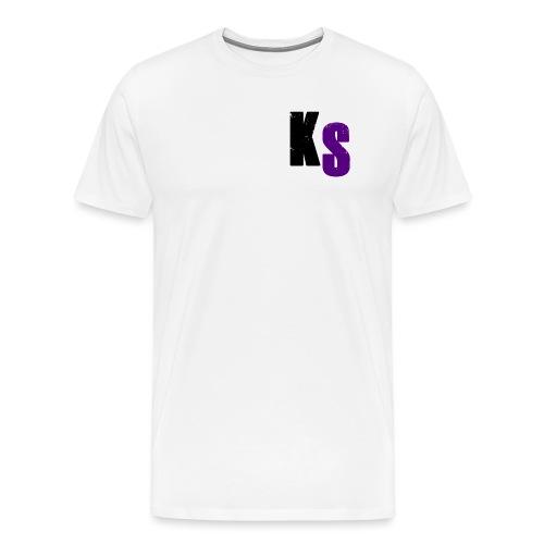 KS Official - Premium-T-shirt herr