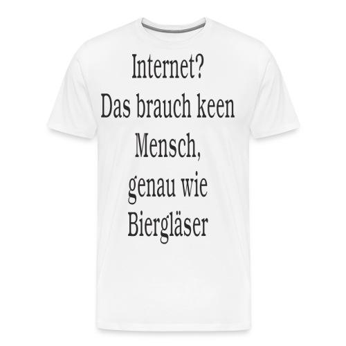 Internet - Männer Premium T-Shirt