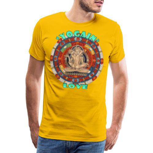 YogaIn Love - Maglietta Premium da uomo