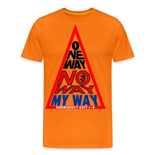 No way - Maglietta Premium da uomo