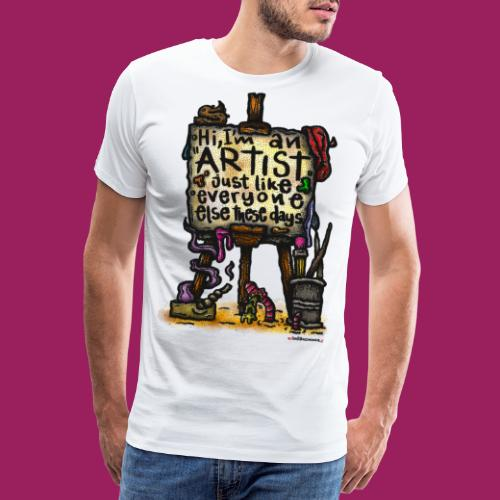 Art-Toys before they were cool. - Männer Premium T-Shirt
