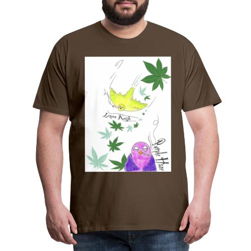 k u s h - Männer Premium T-Shirt