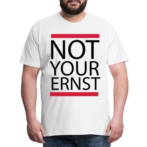 Humorvoll Lustiger Denglisch Sprüche Geschenk - Koszulka męska Premium