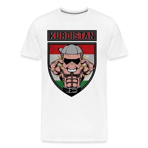 Kurdistan azadi Kurdish people. Kurdish Muscle - Männer Premium T-Shirt