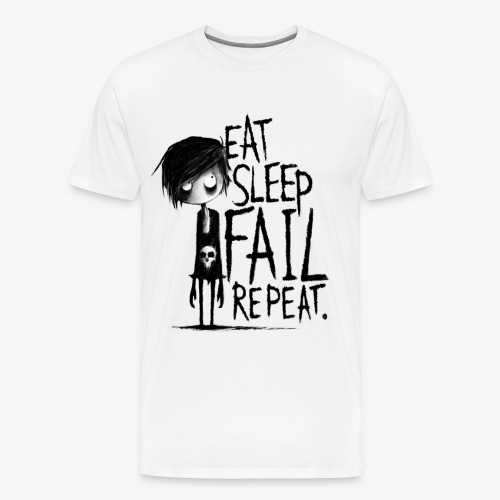 Kreislauf des Scheiterns - Männer Premium T-Shirt