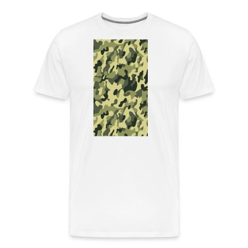 camouflage slippers - Mannen Premium T-shirt