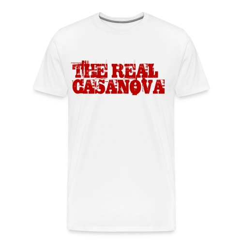 THE REAL CASANOVA - Männer Premium T-Shirt