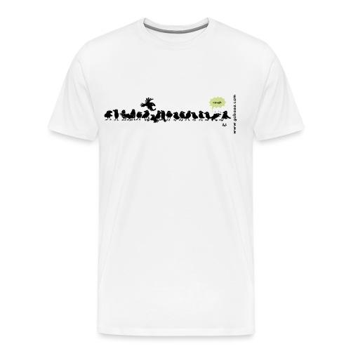 Corvids - det er en mengde! - Premium T-skjorte for menn