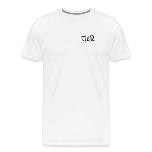 TIGR WORD LOGO - Men's Premium T-Shirt