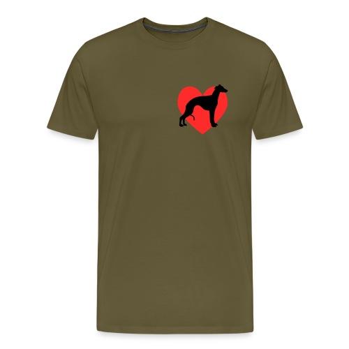 lovewhippetstand png - Men's Premium T-Shirt