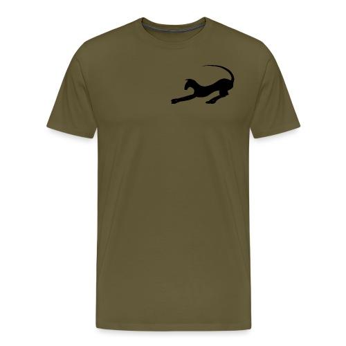Silluett 2 - Premium-T-shirt herr
