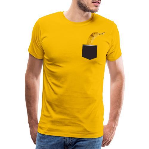 Banane in der Tasche - Männer Premium T-Shirt