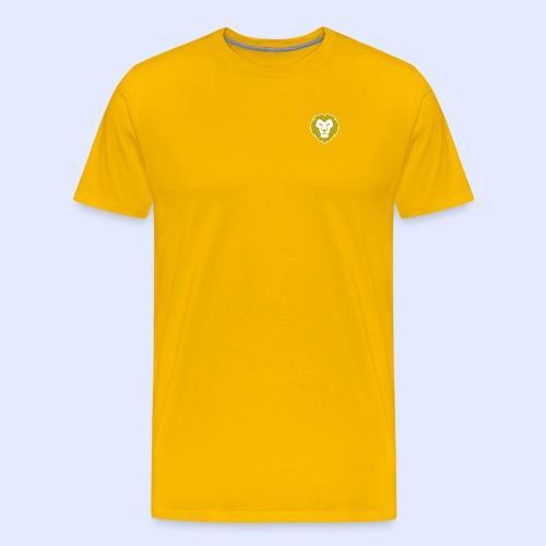 GoldenLion - Miesten premium t-paita