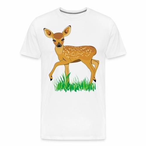 cerbiatto - Maglietta Premium da uomo