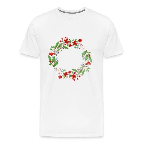 flowers - Männer Premium T-Shirt