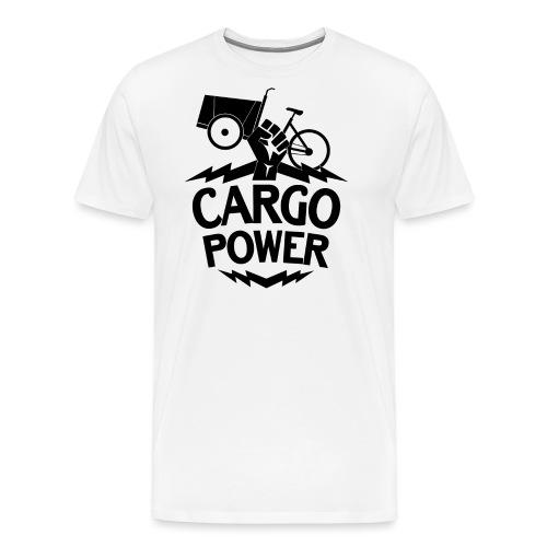Lastenrad Cargo Power - Männer Premium T-Shirt