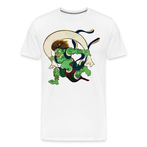 Kaze Kami - Wind Gott - Männer Premium T-Shirt