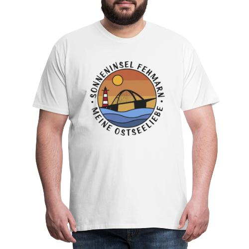 Sonneninsel Fehmarn - Männer Premium T-Shirt