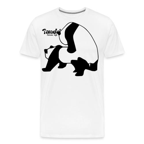 Panda F**k Pullover - Männer Premium T-Shirt