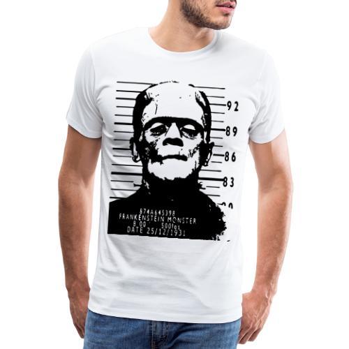 frankenstein arrested - Camiseta premium hombre