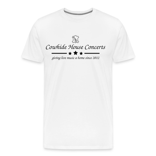 Cowhide House Concerts - Standard Design - Männer Premium T-Shirt