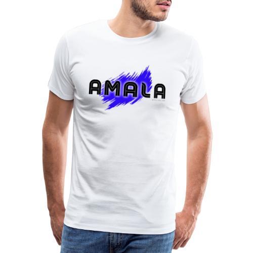 Amala, pazza inter (bianca) - Maglietta Premium da uomo