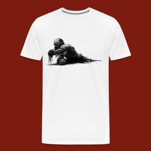 Splatter Zombie - Men's Premium T-Shirt