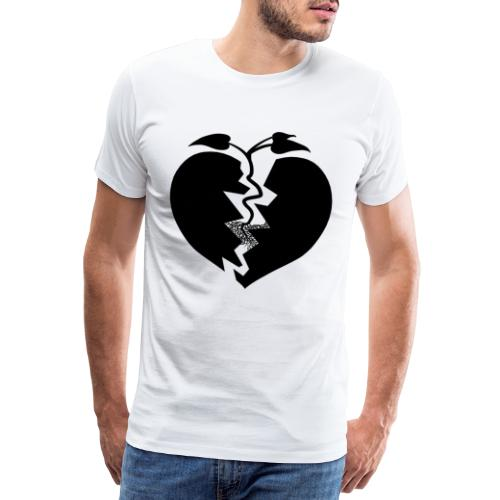 Heart of Hope - Premium-T-shirt herr
