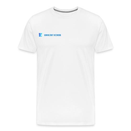 KomvilCraft   MINIMALISTISCH + Text - Männer Premium T-Shirt