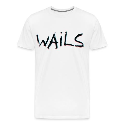 WAILS LOGO - Premium-T-shirt herr