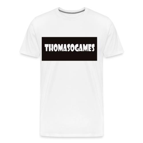 ThomasoGames Logo - Mannen Premium T-shirt