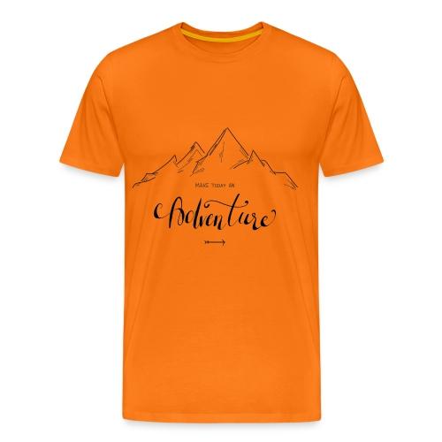 Make today an Adventure - Männer Premium T-Shirt
