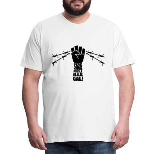 Personne n'est illégal - T-shirt Premium Homme