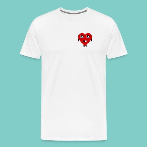 Coeur mignon - T-shirt Premium Homme