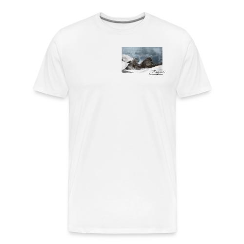 Mountains Colorized - Camiseta premium hombre