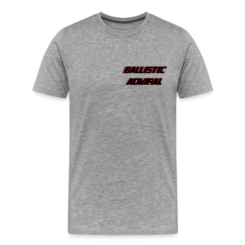 BallisticAdmiral - Mannen Premium T-shirt