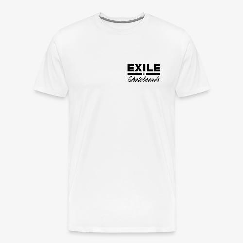 Exile Skateboards Official Merch - Men's Premium T-Shirt