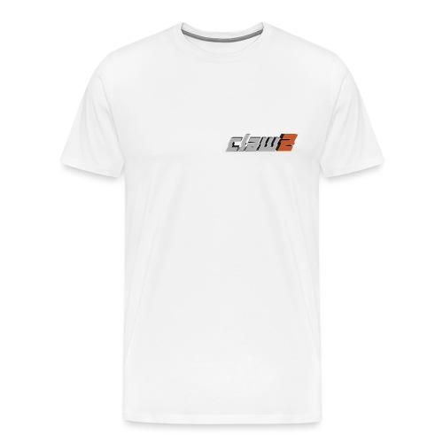 ClawZ Logo - Premium-T-shirt herr