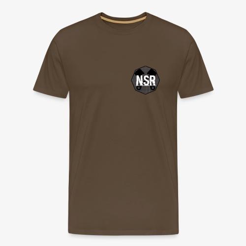 NSR B/W - Miesten premium t-paita
