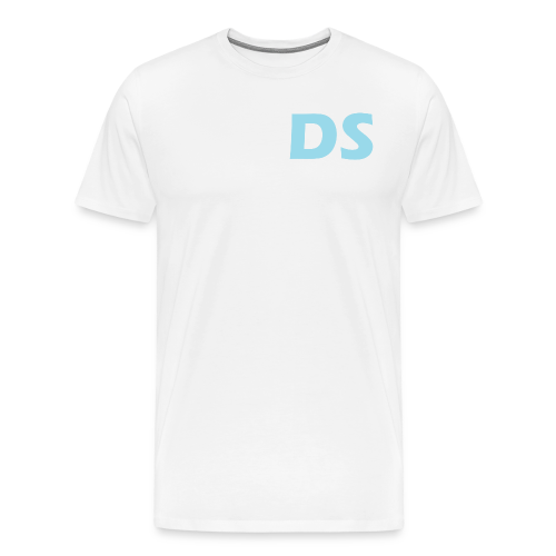 Drone Spotters logo blauw - Mannen Premium T-shirt