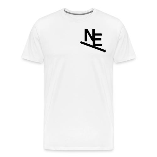 NE Classic - Premium T-skjorte for menn
